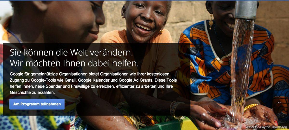 Google Non-Profits