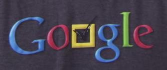 Google Logo Aufdruck
