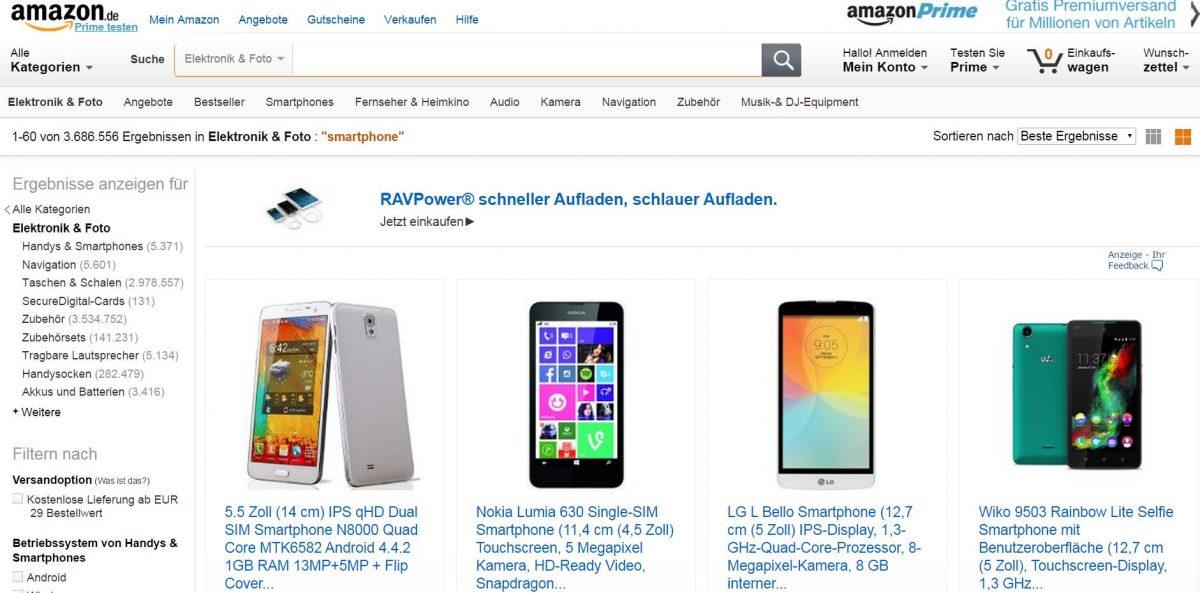 trafficmaxx - Amazon Produktsuche Produkttitel