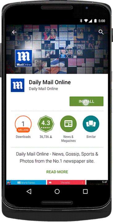 trafficmaxx - Smartphone App