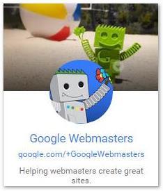 Google Webmasters - Google+ Feld - trafficmaxx
