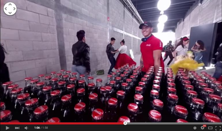 Coca-Cola 360-Grad-Video Ausschnitt - trafficmaxx