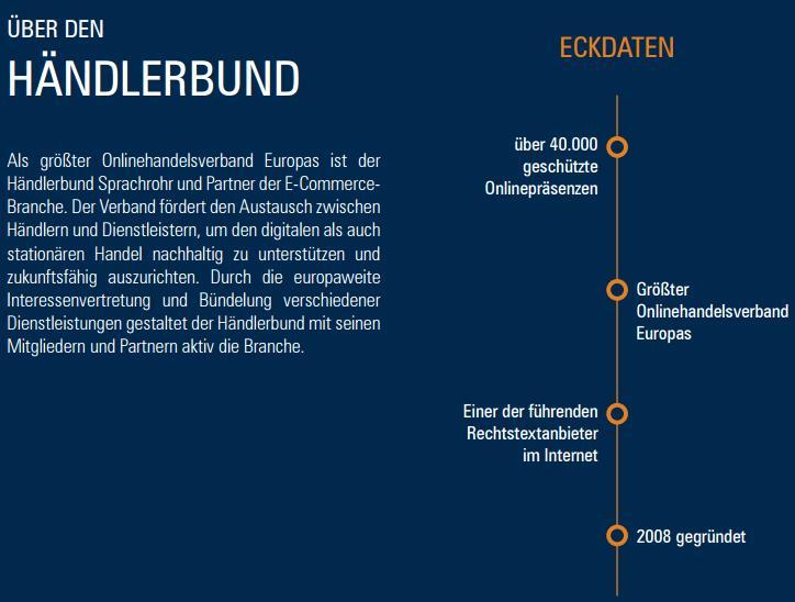 Händerbund - Eckdaten - trafficmaxx