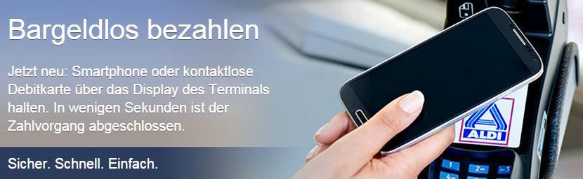 Mobile Payment - Aldi Nord - trafficmaxx