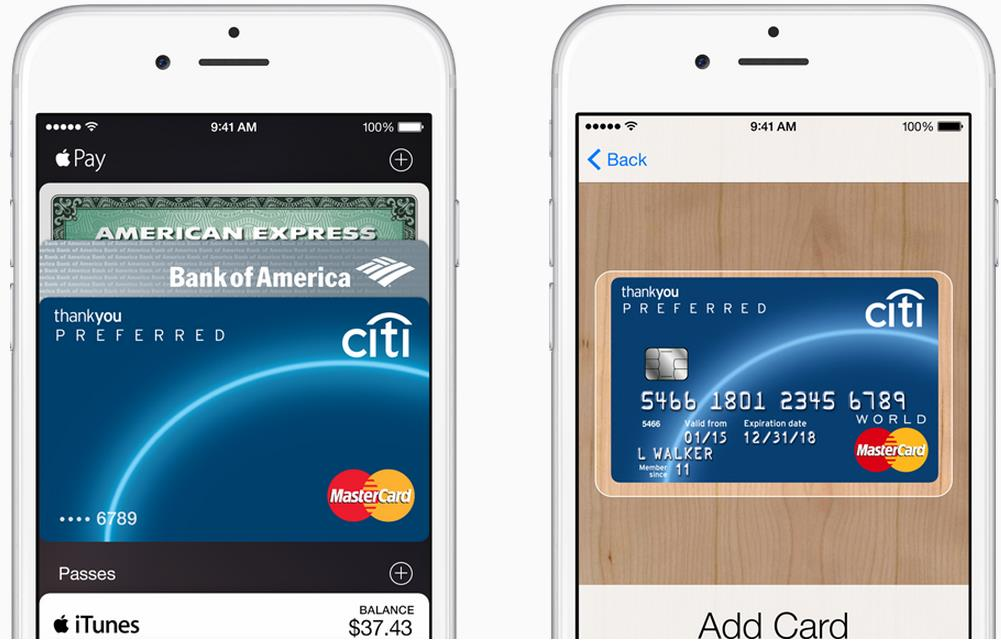 Apple Pay - Kreditkarte - trafficmaxx