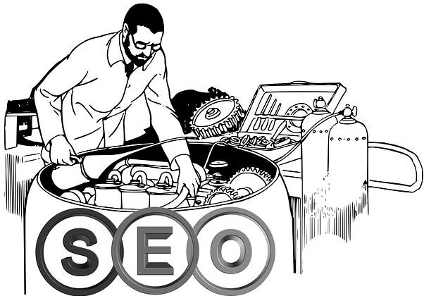 SEO - Suchmaschinenoptimierung - Skizze - trafficmaxx