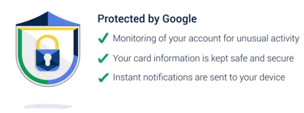 Hands Free - I will pay with google. Sicherheit