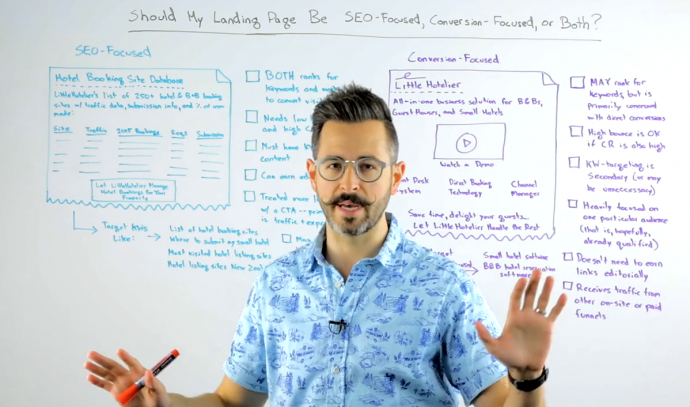 Rand Fishin Whiteboard Friday - SEO vs. Conversion
