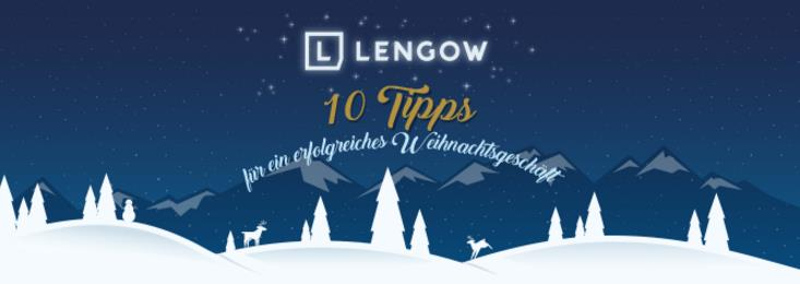 10 Tipps für ein erfolgreiches Weihnachtsgeschäft Lengow Titel