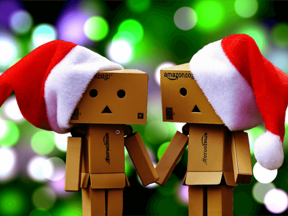 Weihnachten Online-Shopping Amazon