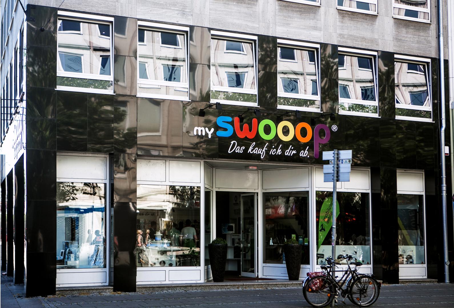 mySWOOOP Ladengeschäft außen