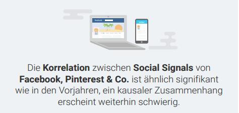 Searchmetrics-Studie Ranking-Faktoren 2016 - Social Media