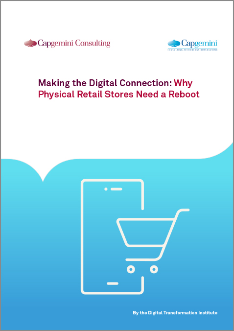 "Aus der Studie ""Making the Digital Connection: Why Physical Retail Stores Need a Reboot"" - Cover"
