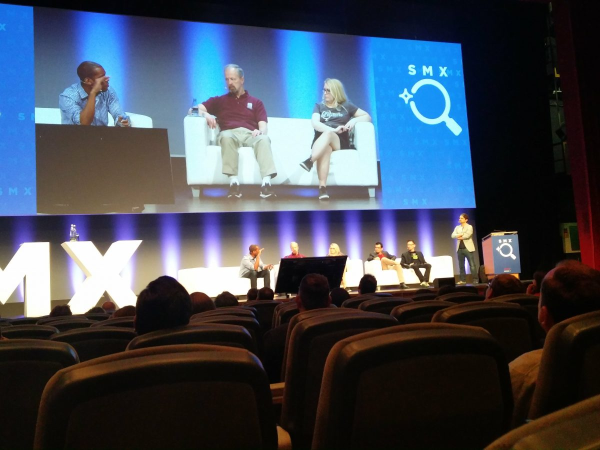 Webmasters in the Roof SMX 2017