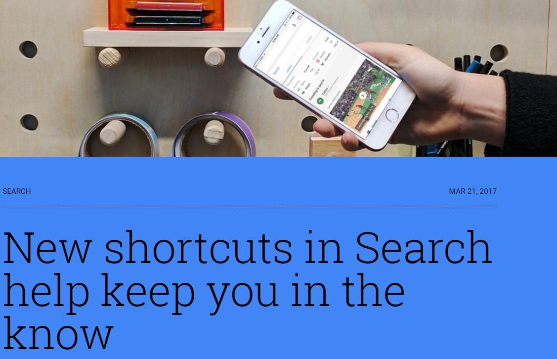 Google Search Shortcuts