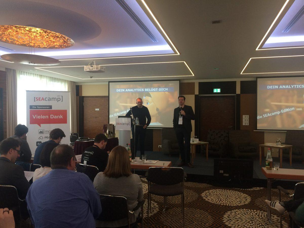 Dein Analytics Belügt Dich -SEAcamp Edition - Michael Janssen