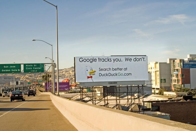 DuckDuckGo Billboard San Francisco