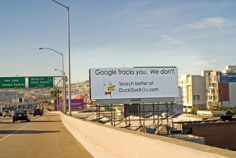 DuckDuckGo Billboard San Francisco