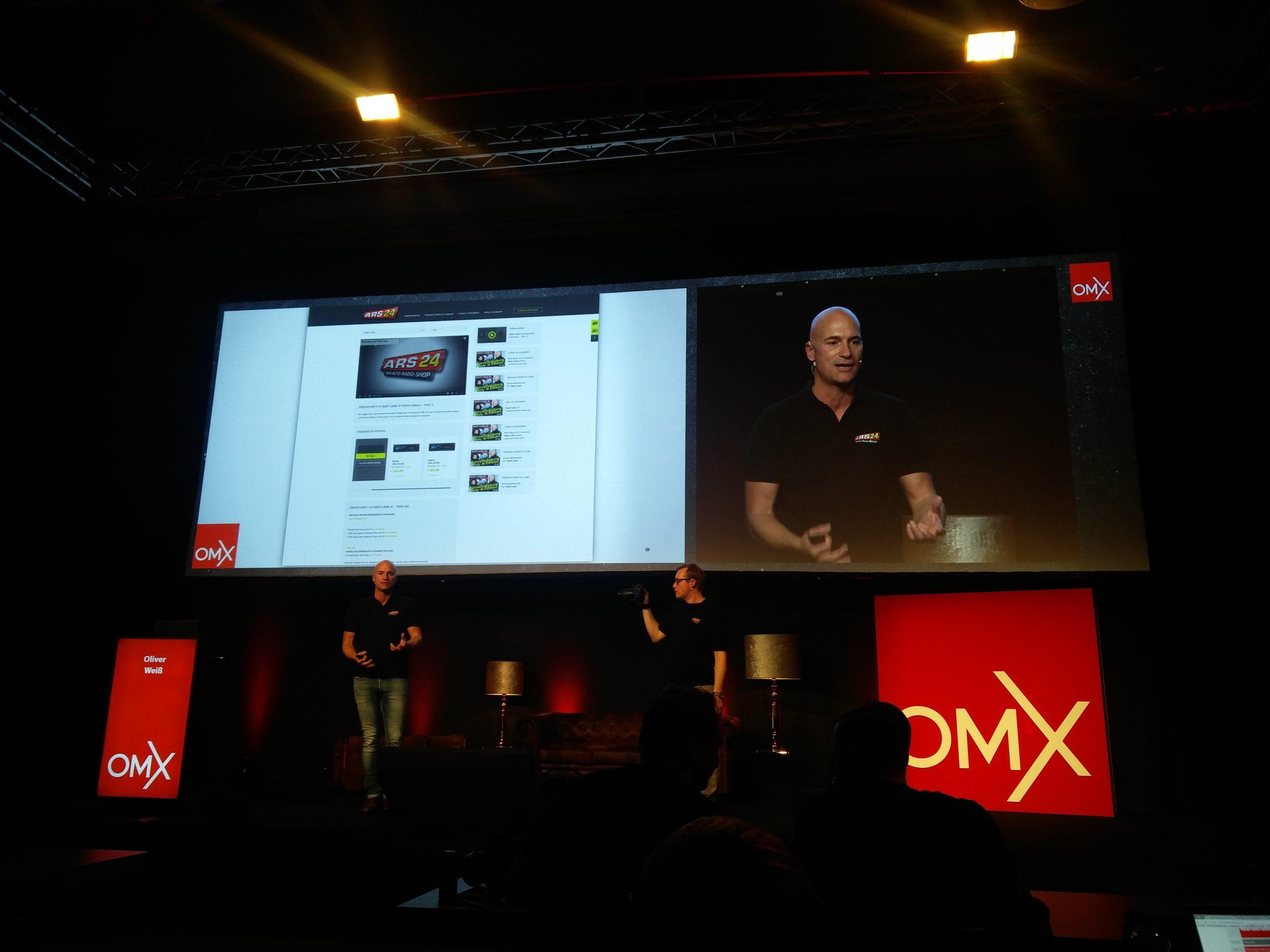 Oliver Weiss auf der OMX