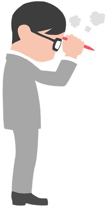think-about nachdenken Redakteur Inspiration zeichnung