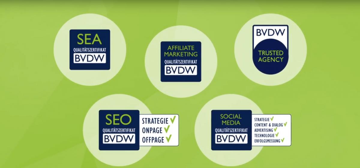 BVDW-Qualitätszertifkate