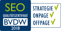 bvdw-Zertifikat SEO 2018