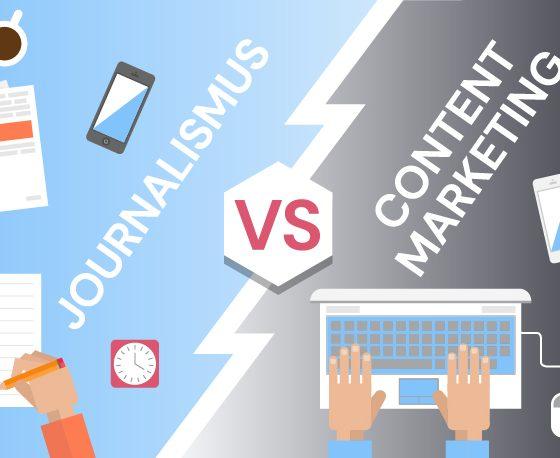 Journalismus vs. Content Marketing